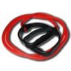 Elastic Tubing (Red Medium) with D-Handles